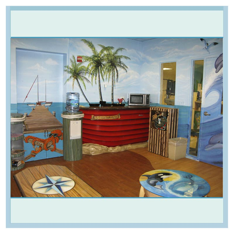 Parent Directory · Boat Bar Hospital Art Transformation Dolphins Custom  Furniture 1 ...