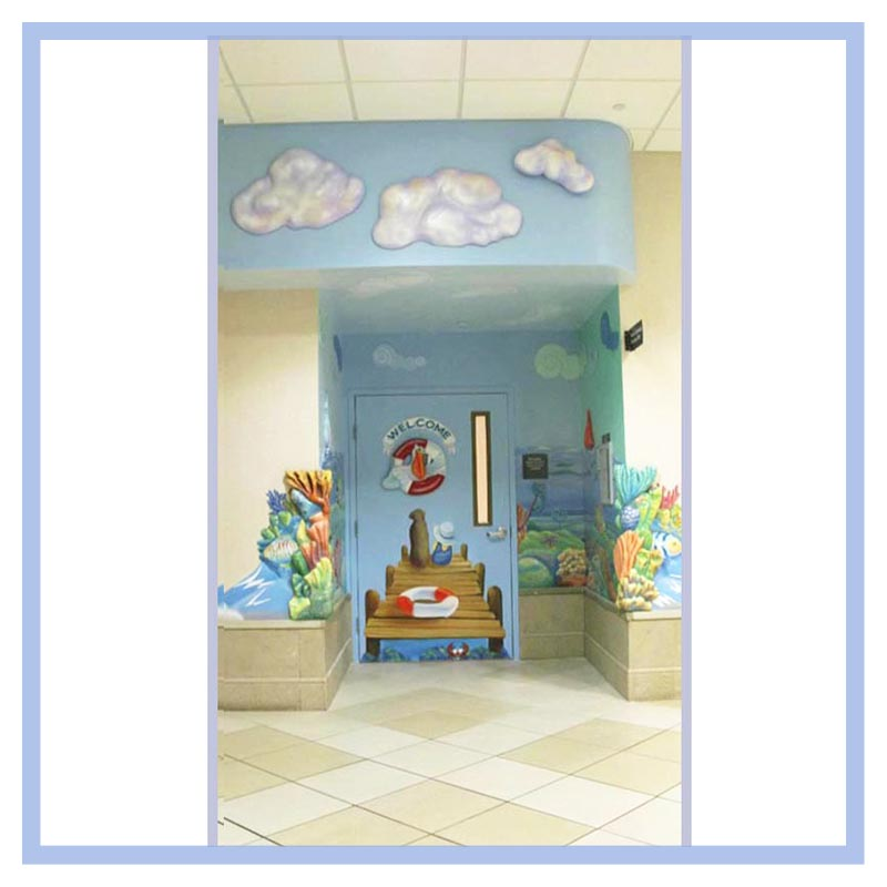 Cloud Window Curtains 3d Printing Nautical Home Decor: Broward General Oncology Hematology
