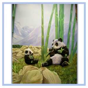 pandas-bamboo-mountains-rainforest-theme-hospital-art-healthcare-design