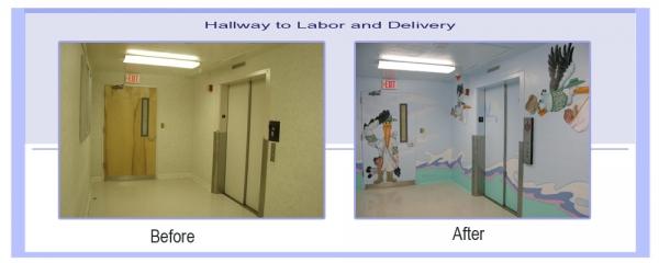 L&D Hallway
