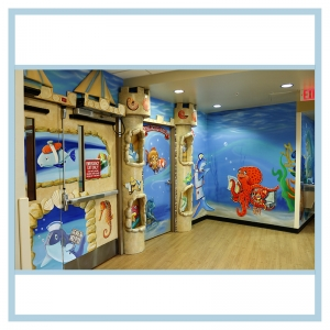 3d-mural-transformation-sandcastle-wall-art-healthcare-design-nurse-shark-octopus