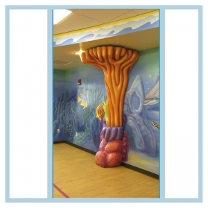 coral-fish-mural-hospital-design-art