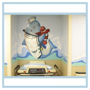 nurse-shark-pediatrics-newborns-hospital-murals-art