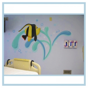 decals-stickers-for-hospital-wallsl-healthcare-design-fish-art-crabs-coral-patient-room-decorations-tropical-theme-interior