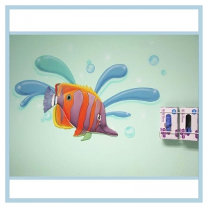 decals-stickers-for-hospital-wallsl-healthcare-design-fish-art-crabs-coral-patient-room-decorations-tropical-theme