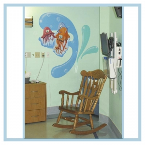 decals-stickers-for-hospital-wallsl-healthcare-design-fish-art-crabs-coral-patient-room-decorations-underwater-bubbles