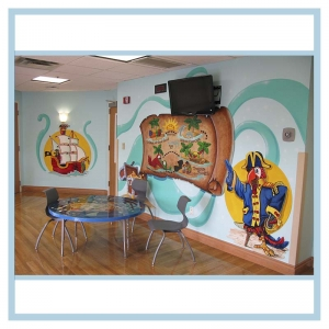 kids-playroom-pediatric-unit-healthcare-design-hospital-art-pirate-theme