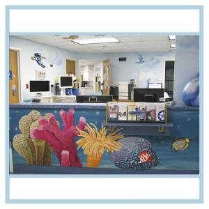 nurses-station-counter-artwork-3d-birds-hospital-art-healthcare-design-coral-mural