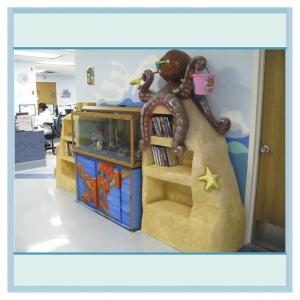 octopus-bookcase-fish-tank-hospital-art-murals