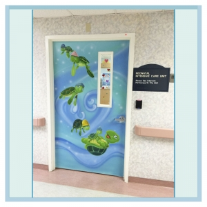 turtle-mural-painted-door-wall-art-for-hospitals