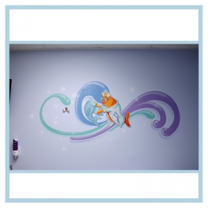 wall-stickers-decals-fish-art-hospital-design-same-day-surgery-artwork-nurse-helping-fish
