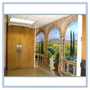 tuscany-mural-landscape-mural-hospital-art-healthcare-design
