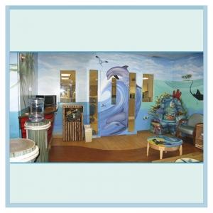 pediatric-parent-lounge-custom-art-childrens-theme-hospital