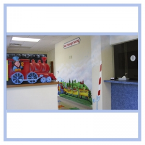 train-conductor-railroad-theme-doctors-office-murals