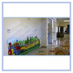 train-theme-railroad-art-hospital-design-doctors-office-transformation