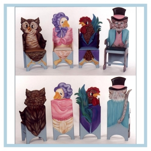 mother-goose-and-friends-chairs-pediatric-unit-artwork