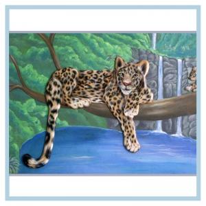 leopard-3d-art-hospital-mural-rainforest-theme-healthcare-design