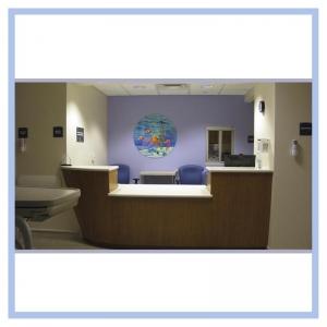 boat-counter-3d-fish-mural-healthcare-design-hospital-art-cancer-unit