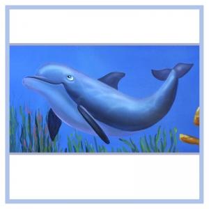 dolphin-undersea-mural-hospital-art-healthcare-design