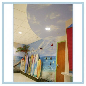 beach-theme-airbrushed-mural-hospital-art-healthcare-design
