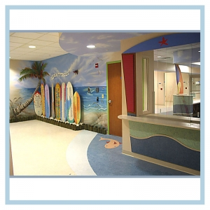 hospital-mural-surfboards-surfer-healthcare-design