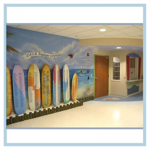 Chris Evert Pediatric Emergency Waiting Room