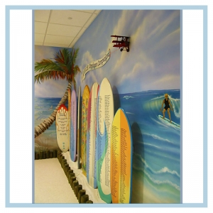 surfboards-employee-campaign-3d-art-murals-for-hospitals