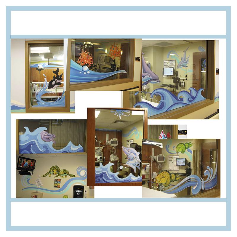 Chris Evert Pediatric Emergency Waiting Room | Dänay Design