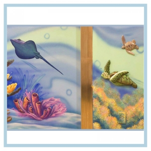 3d-art-stingray-turtles-coral-underwater-theme-hospital-art-pediatrics
