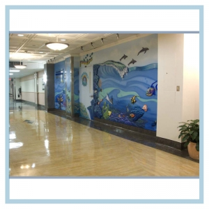 hospital-hall-art-healthcare-design-3d-fish-murals