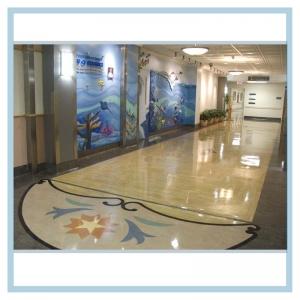 pediatric-entranceway-mural-3d-fish-3d-wave
