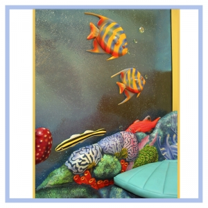 3d-fish-coral-bench-hospital-art-healthcare-design-childrens-areas