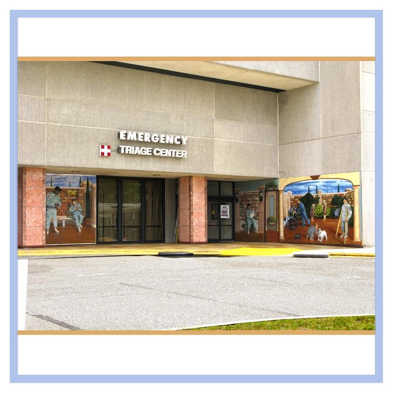 Winn Army Hospital Emergency Triage Center | Dänay Design
