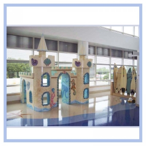 sandcastle-playroom-hospital-art-fish-theme-beach-healthcare-art-hospital-murals