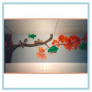 hospital-wall-art-squirrels-3d-art-healthcare-design