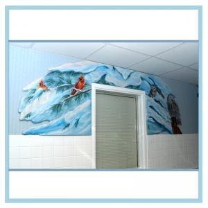 winter-scene-wall-art-NICU-hospital-design-murals
