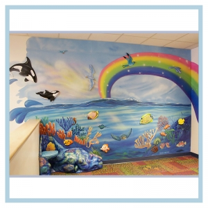 3d-fish-murals-clinic-art-underwater-theme-healthcare-design-underwater-theme-orcas-rainbow