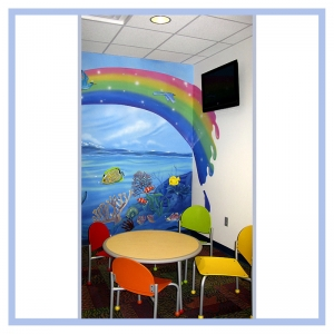 3d-mural-hospital-art-healthcare-design-childrens-waiting-room-fish-underwater-theme