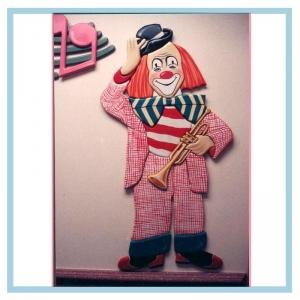 trumpet-clown-hospital-design-wall-art-childrens-rooms