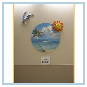 3d-mural-healthcare-design-art-for-hospitals-tropical-theme-beach