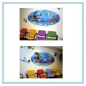 3d-fish-murals-clinic-art-underwater-theme-healthcare-design