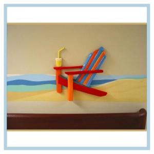 lounge-chair-on-beach-mural-3d-art-beach-theme-hospital-art