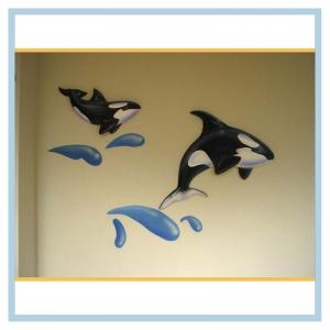 orcas-on-hospital-wall-3d-art-healthcare-design