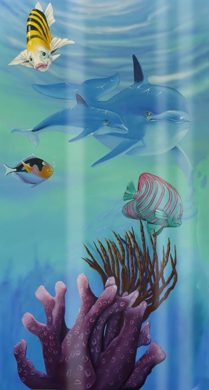aquarium wrap