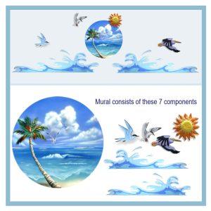 mp1-43w-seagulls-landing-with-waves-hospital-art-wall-murals