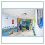 porthole-frames-hospital-hallway-art-3d design-healthcare-decorations-coral-fish