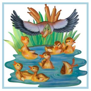 co123-protected-ducklings-sm-hospital-art-wall-murals