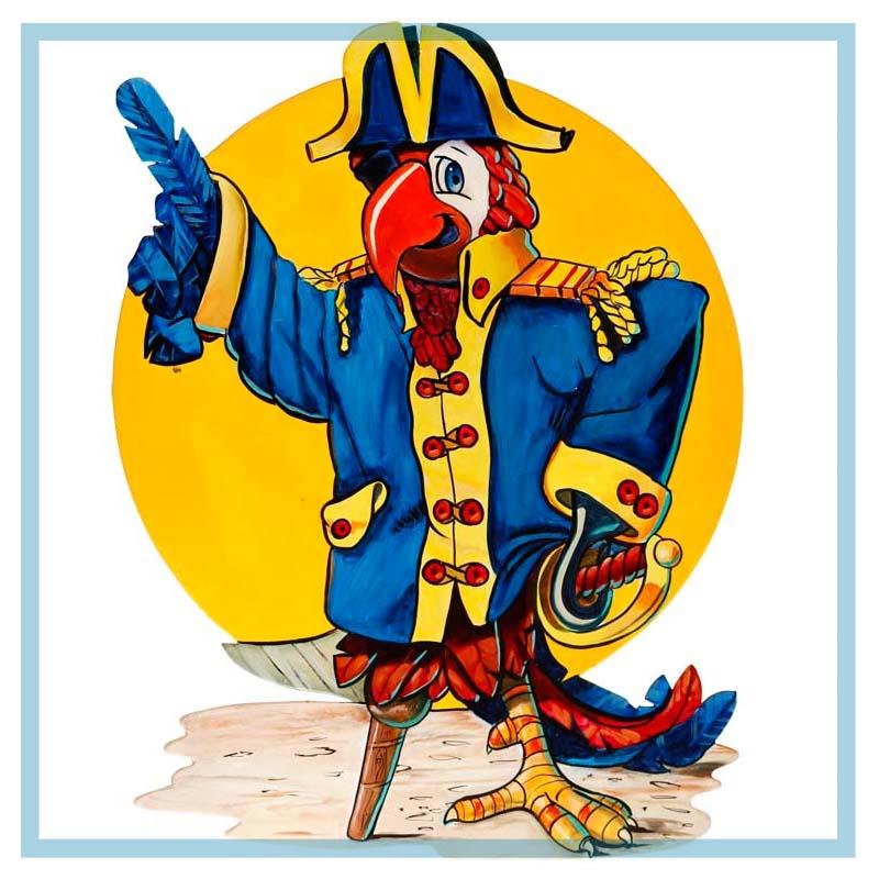 Pirate Parrot   Dänay Design